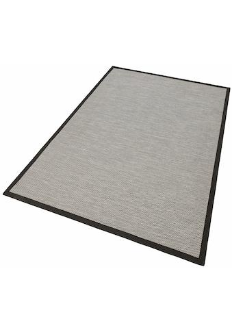 Dekowe Teppich »Naturino Color«, rechteckig, 7 mm Höhe, Flachgewebe, Sisal-Optik, mit... kaufen