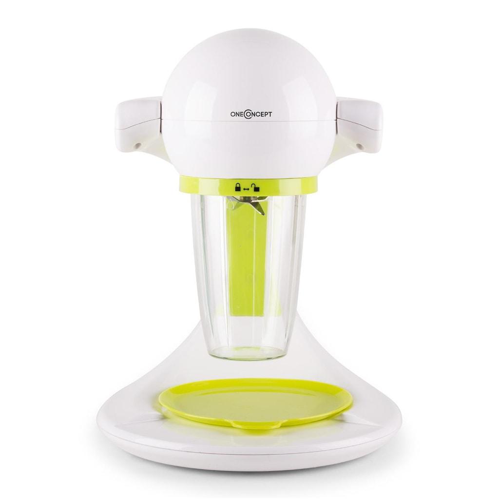 ONECONCEPT Smoothie Maker 350 Standmixer grün/weiß »Smoooothy«