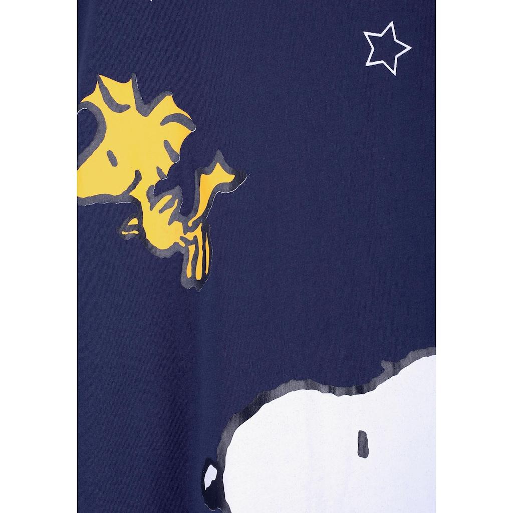 Peanuts Sleepshirt, mit Snoopy-Print in Minilänge