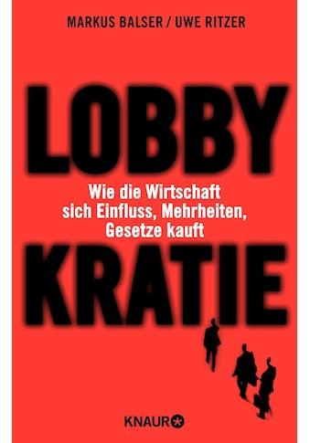 Buch »Lobbykratie / Uwe Ritzer, Markus Balser« kaufen