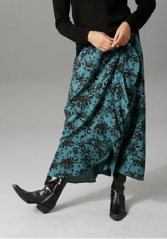 Aniston CASUAL Maxirock, in unterschiedlichen Blumendrucken kaufen