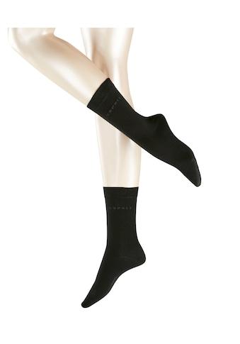 Esprit Socken »Basic Easy Doppelpack«, (2 Paar), aus hautfreundlicher Baumwolle kaufen
