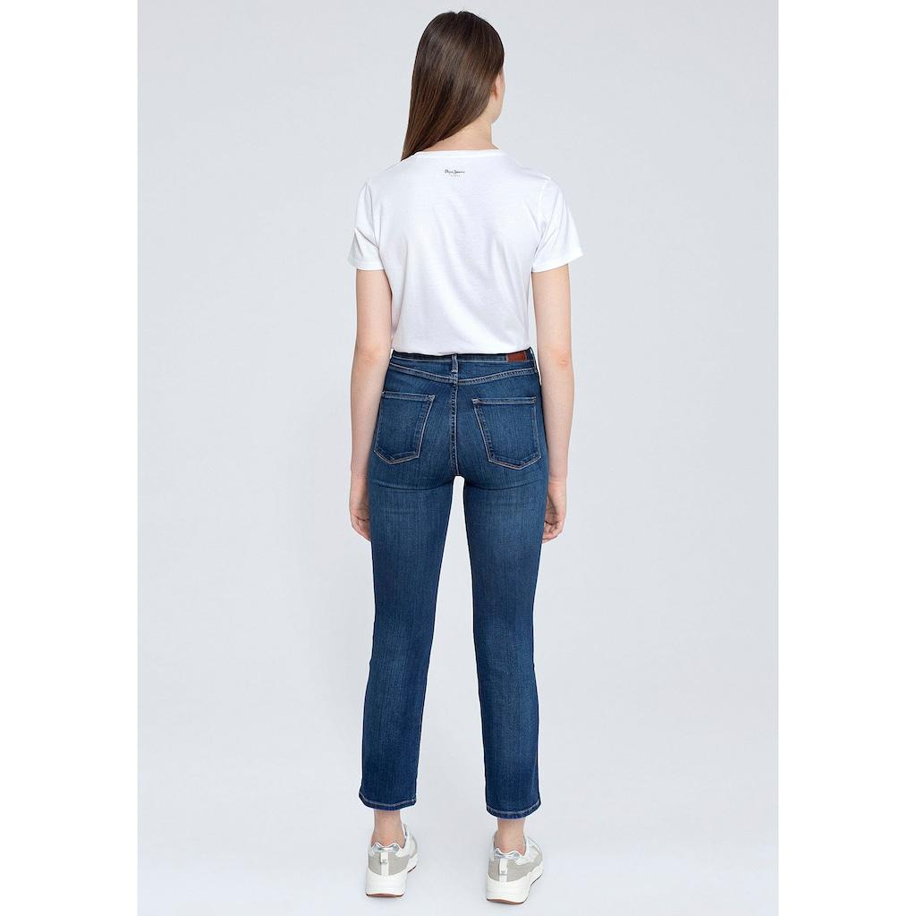 Pepe Jeans Slim-fit-Jeans »DION7/8«, mit hohem Bund, Stretch-Anteil und in 7/8-Länge