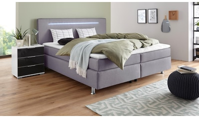 COLLECTION AB Boxspringbett, inkl. LED-Beleuchtung, Topper und Kissen kaufen