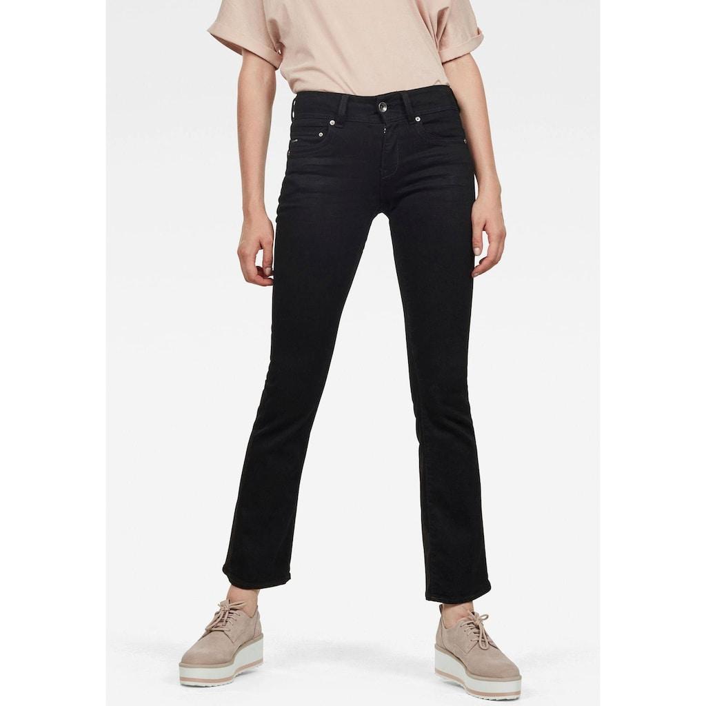 G-Star RAW Bootcut-Jeans »Midge Mid Bootcut«, mit Stretch