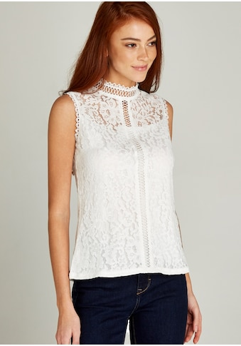 Apricot Spitzenbluse »Victoriana Lace Ladder Front Top«, mit Spitze kaufen