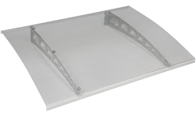 KONIFERA Vordach, silber, BxTxH: 125x90x14,5 cm kaufen