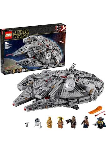 """LEGO® Konstruktionsspielsteine """"Millennium Falcon™ (75257), LEGO® Star Wars™"""", Kunststoff, (1351 - tlg.) kaufen"""