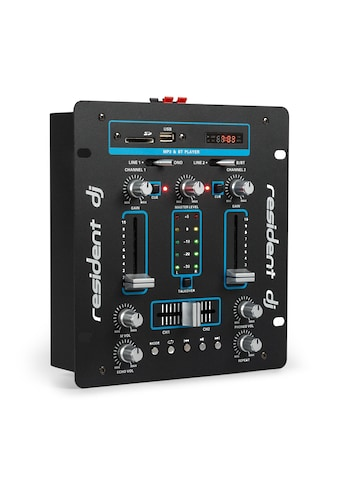 resident dj DJ-Mixer Mischpult Verstärker Bluetooth USB kaufen