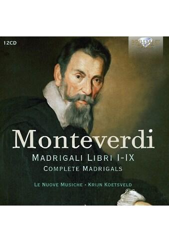 Musik-CD »Monteverdi:Complete Madrigals / Le Nuove Musiche/Koetsveld« kaufen