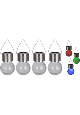 näve LED Gartenleuchte »CRACKLE BALL« kaufen