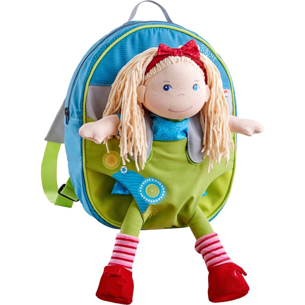 Haba Puppen Trage »Kinder-Puppenrucksack Sommerwiese«