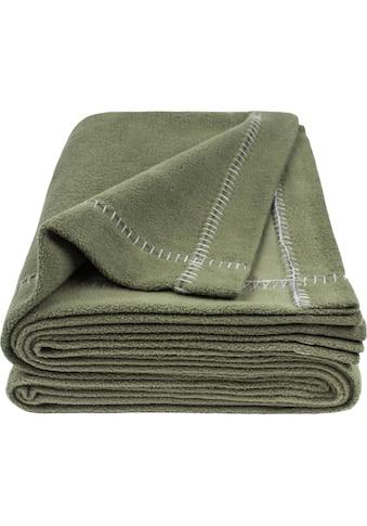 zoeppritz Wohndecke »Soft-Greeny«, mit breitem Umschlag kaufen