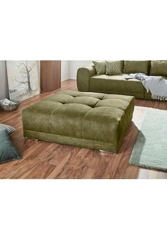 Jockenhöfer Gruppe Hocker, im XXL Format, ansprechende Steppungen in der Sitzfläche kaufen