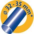 Swirl Bodendüse »Swirl® Fliesen- und Hartboden Bürstdüse«, (Packung, 3 tlg.)