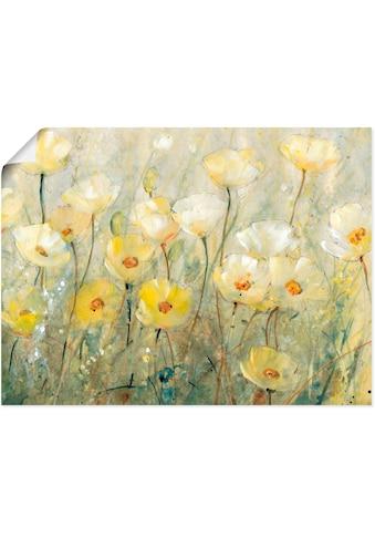 Artland Wandbild »Sommer in voller Blüte II«, Blumenwiese, (1 St.), in vielen Größen &... kaufen