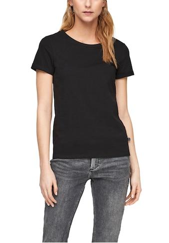 Q/S designed by T-Shirt, im lässigen Basic Look kaufen