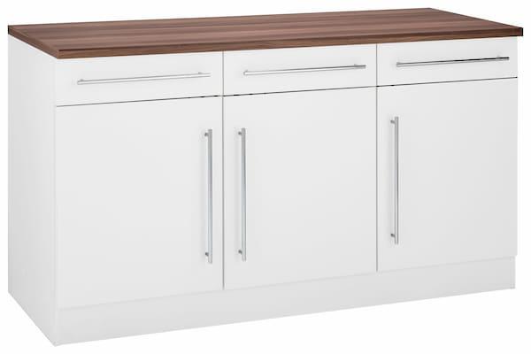 Küchenunterschrank in Weiß
