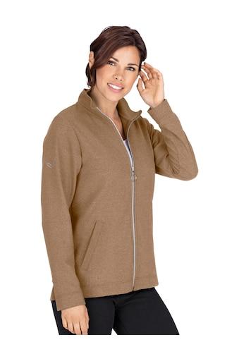 Trigema Jacke mit funkelnden Strass-Steinen kaufen