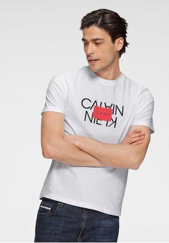 Calvin Klein T-Shirt »TEXT REVERSED LOGO T-SHIRT« kaufen