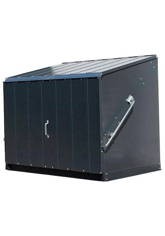 Trimetals Fahrradbox »Stowaway«, Mülltonnenbox für 2x240 l, Stahl, (BxTxH): 138x89x113 cm kaufen