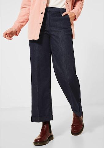 Cecil Loose-fit-Jeans, mit Bügelfalte kaufen