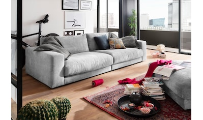 INOSIGN Big-Sofa »Enisa«, Kuschelig, gemütlich, weich, in 5 Farben, mit Zierkissen kaufen