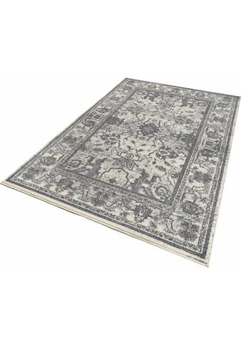 Zala Living Teppich »Glorious«, rechteckig, 9 mm Höhe, Kurzflor, Vintage Optik, Wohnzimmer kaufen