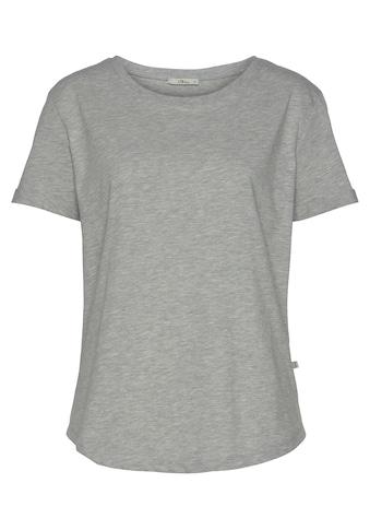 LTB Kurzarmshirt »SEPEZE«, in schlichtem Design mit abgerundetem Saum kaufen