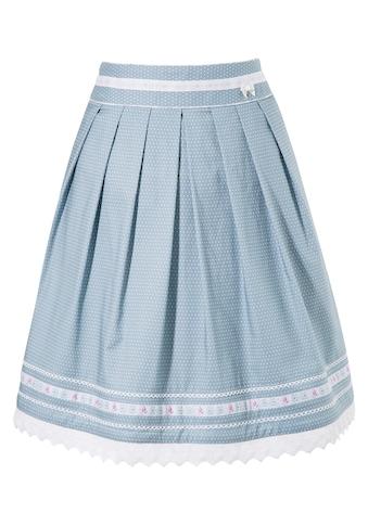 MarJo Trachtenrock, mit verspielter Häkelborte kaufen