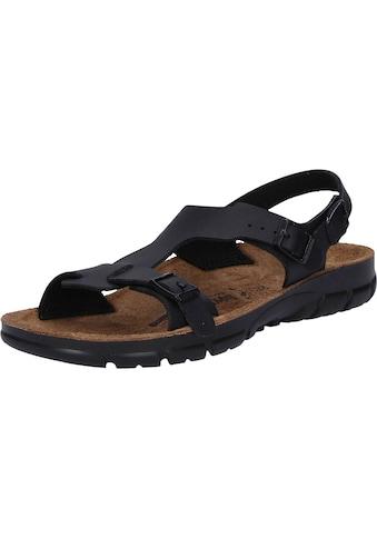 Birkenstock Sandale »500863«, Saragossa schwarz kaufen