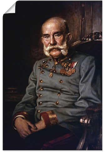 Artland Wandbild »Franz Joseph I., 1915«, Menschen, (1 St.), in vielen Größen &... kaufen