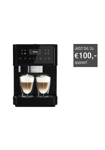 Stand - Kaffeevollautomat, Miele, »CM 6160 MilkPerfection  -   Obsidianschwarz« kaufen