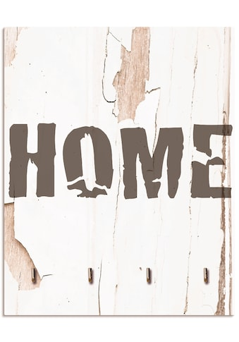 Artland Schlüsselbrett »Home«, aus Holz mit 4 Schlüsselhaken – Schlüsselboard,... kaufen
