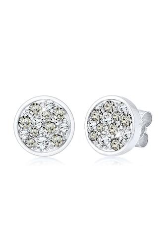 Elli Paar Ohrstecker »Kreis Swarovski® Kristalle 925 Sterling Silber« kaufen