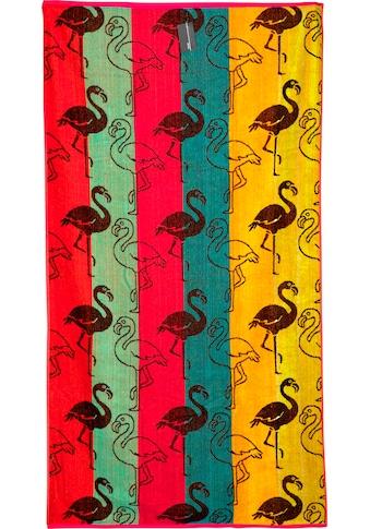 stuco Strandtuch »Flamingo«, (1 St.) kaufen