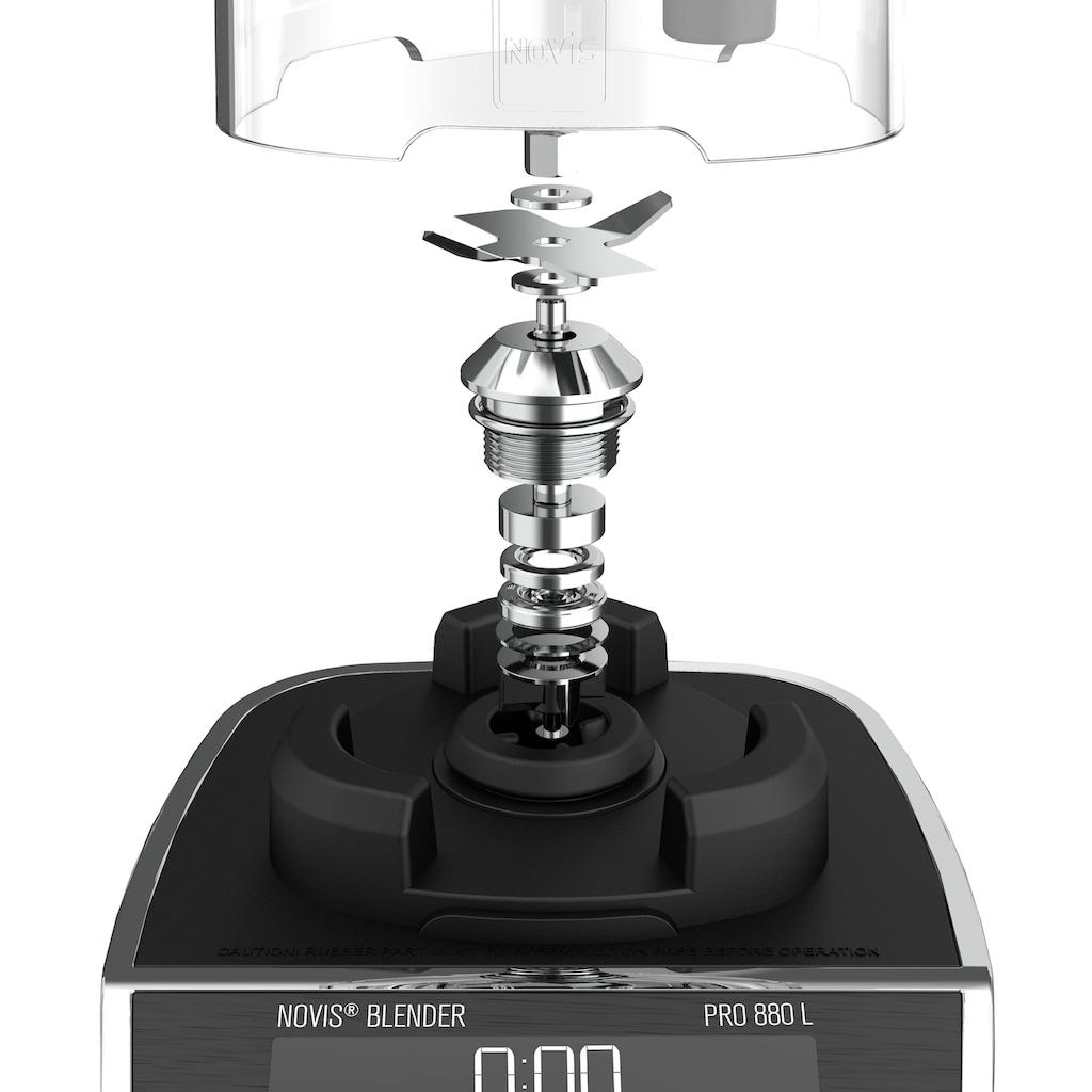 NOVIS Standmixer »ProBlender 880L weiss«, 1400 W, 120'000 Schnitte/Min