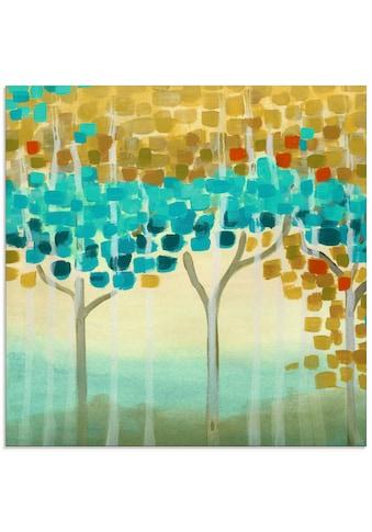 Artland Glasbild »Waldmosaik II«, Muster, (1 St.) kaufen