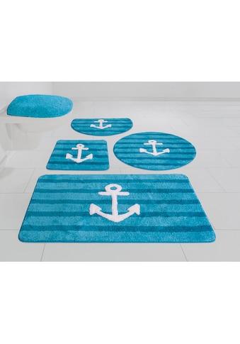 Badematte »Anker«, my home, Höhe 12 mm, rutschhemmend beschichtet kaufen