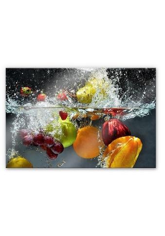 Wall-Art Herd-Abdeckplatte »Spritzschutz Küchenwand Obst« kaufen