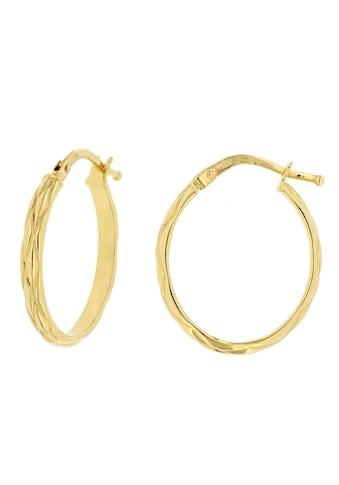 Firetti Paar Creolen »strukturiert, Gelbgold, Ø ca. 15,8 mm« kaufen