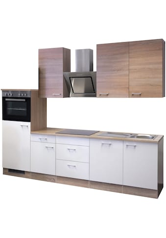 Flex-Well Küchenzeile, mit E-Geräten, Gesamtbreite 280 cm kaufen
