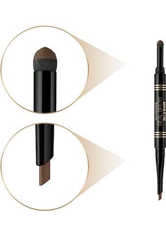 MAX FACTOR Augenbrauen-Stift »Real Brow Fill & Shape Pencil« kaufen