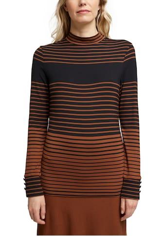 Esprit Collection Langarmshirt, im süßen Ringel-Look kaufen