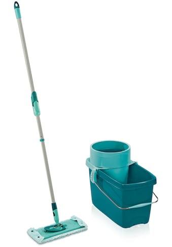 Leifheit Bodenwischer-Set »CLEAN TWIST M super soft«, inkl. Eimer) für Parkett und Laminat kaufen