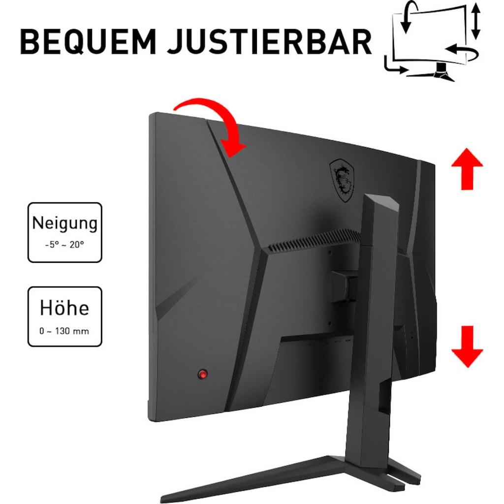 """MSI Curved-Gaming-Monitor »Optix G27CQ4P«, 69 cm/27 """", 2560 x 1440 px, QHD, 1 ms Reaktionszeit, 165 Hz, höhenverstellbar"""
