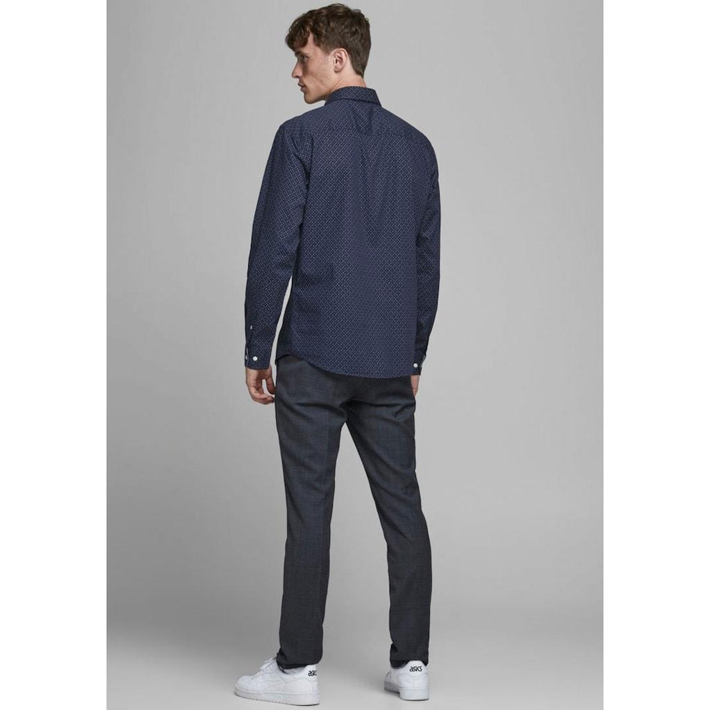 Jack & Jones Langarmhemd »Plain Poplin Shirt«