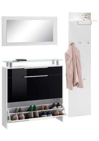 borchardt Möbel Garderoben-Set »Oliva«, (Set, 3 St.), hängender Schuhschrank kaufen