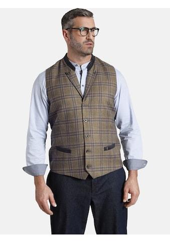 Charles Colby Anzugweste »DUKE MEDWIN«, mit Stehkragen und Revers kaufen