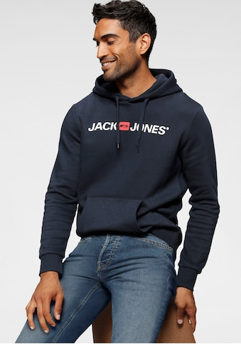 Jack & Jones Kapuzensweatshirt »Jack & Jones Logo Hoodie Oldschool« kaufen